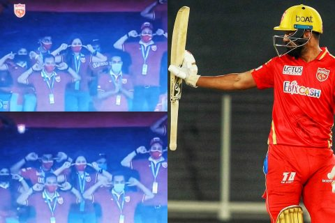 Watch: Punjab Kings' Management Comes Up With A Special Celebration To Celebrate KL Rahul's Fifty