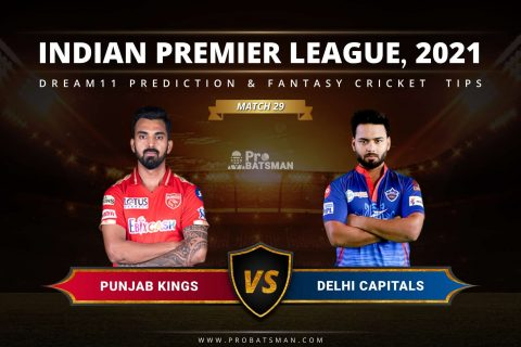 PBKS vs DC Dream11 Prediction: Fantasy Cricket Tips, Playing XI, Pitch Report, Stats & Injury Updates of Match 29, IPL 2021