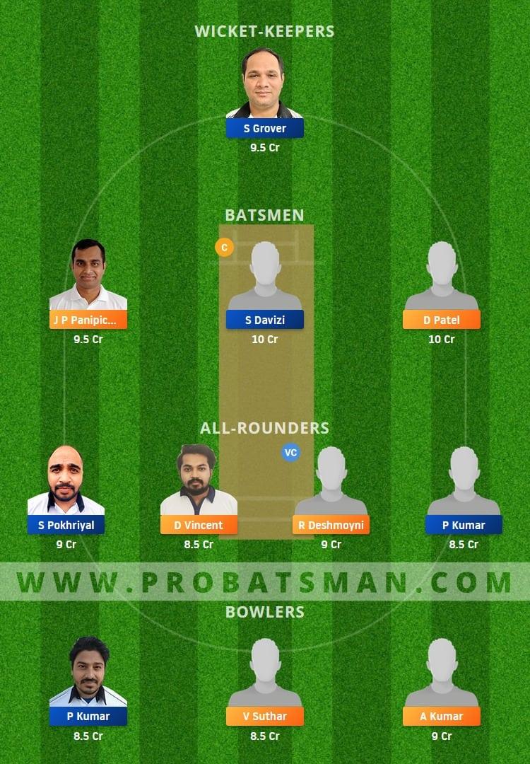 PCR vs PBV Dream11 Fantasy Team Prediction