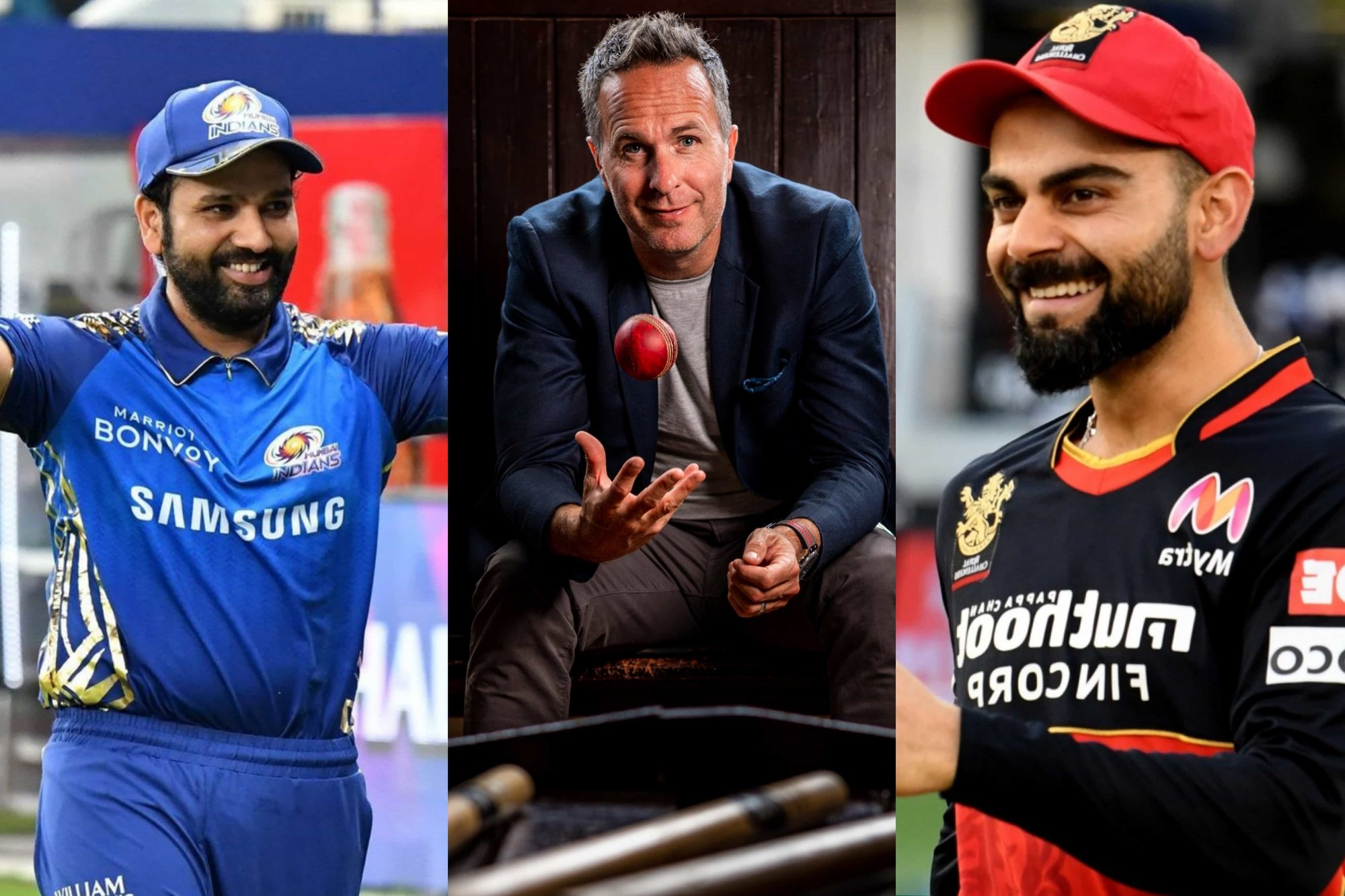 Virat Kohli Or Rohit Sharma? Michael Vaughan Chooses Under Whose Captaincy He Would Have Played In IPL