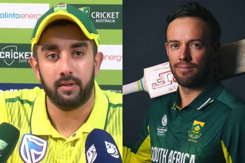 Tabraiz Shamsi Opened Up On AB de Villiers' International Comeback