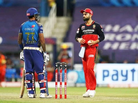 "Suryakumar Yadav Finally Opened Up On Virat Kohli ""Sledging Him"" in IPL 2020 During RCB vs MI"