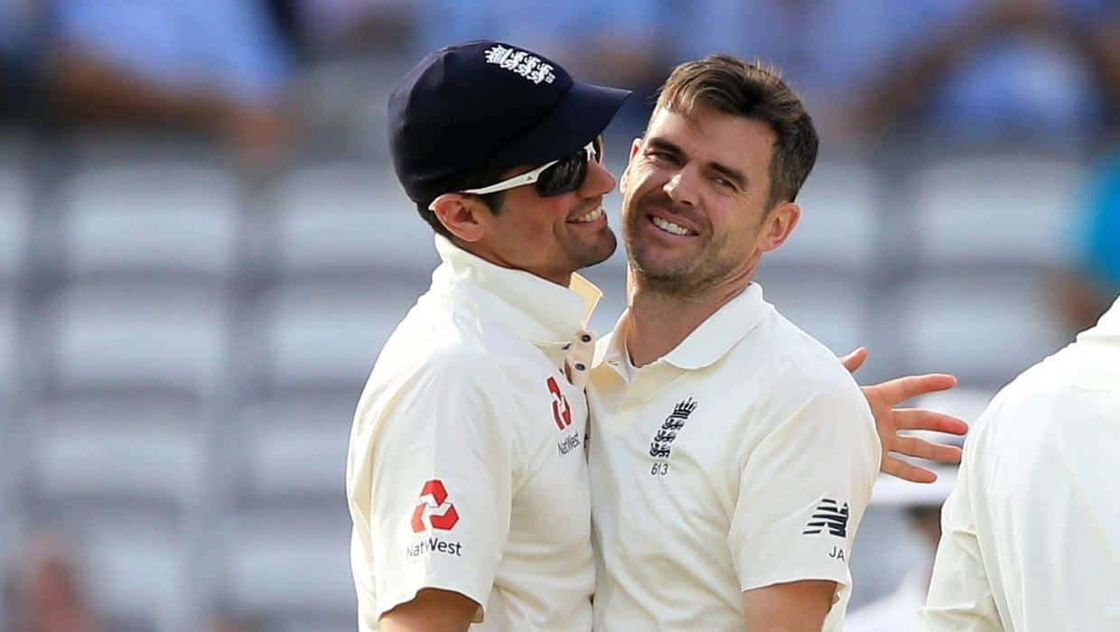 ENG vs NZ: James Anderson Equals Alastair Cook's Massive Record