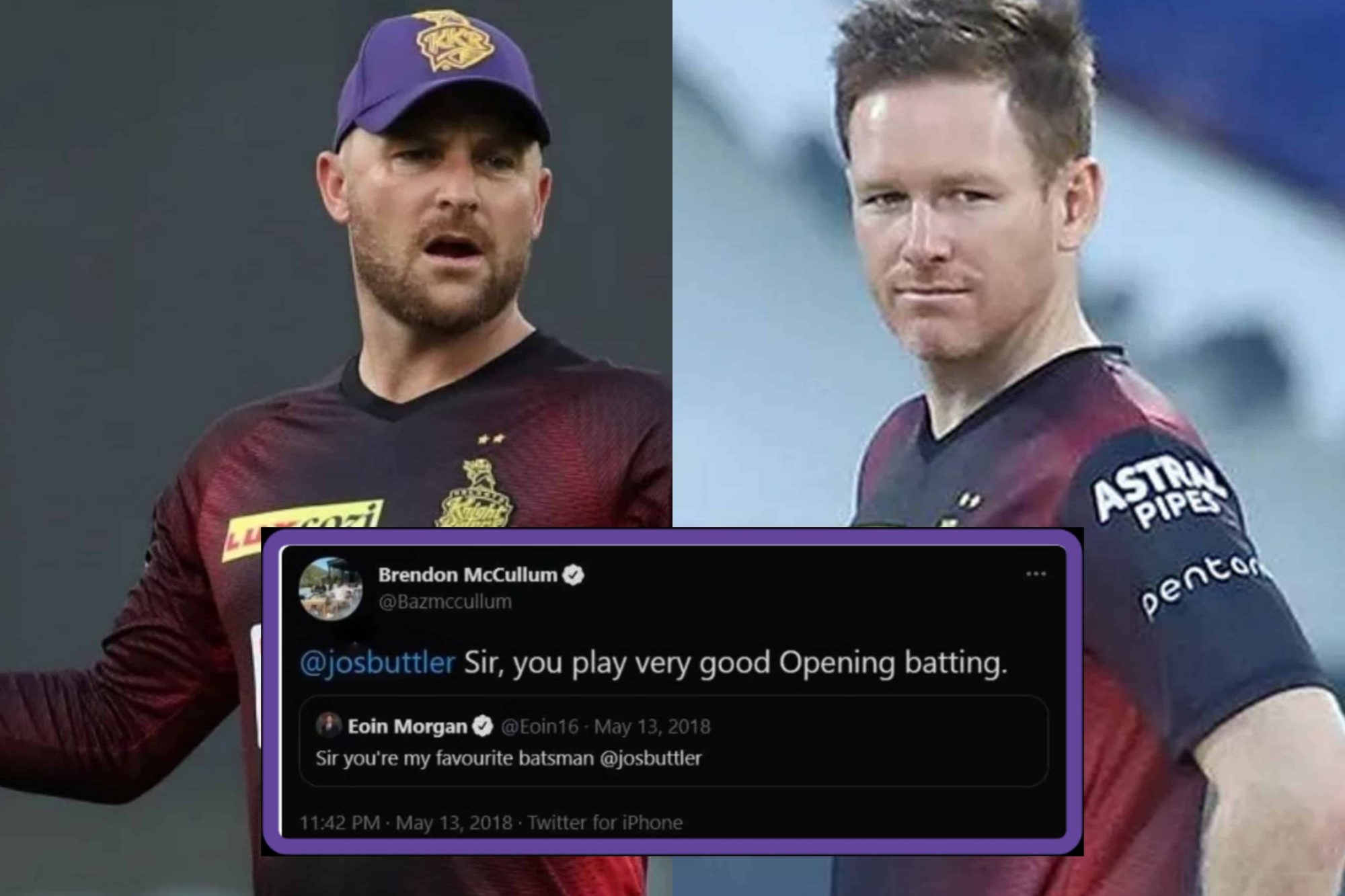 KKR CEO Hinted: Eoin Morgan and Brendon McCullum Might Face Sanctions For Historic Tweets Mocking Indian Accent