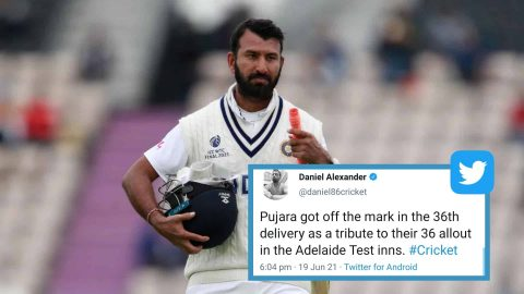 Indian Fans Slam Sri Lankan Fan For Mocking Cheteshwar Pujara During The 2021 WTC Final