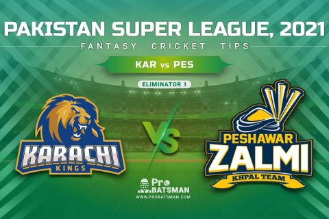 KAR vs PES Dream11 Prediction, Fantasy Cricket Tips: Playing XI, Pitch Report & Player Record of Pakistan Super League (PSL) 2021 For Eliminator 1