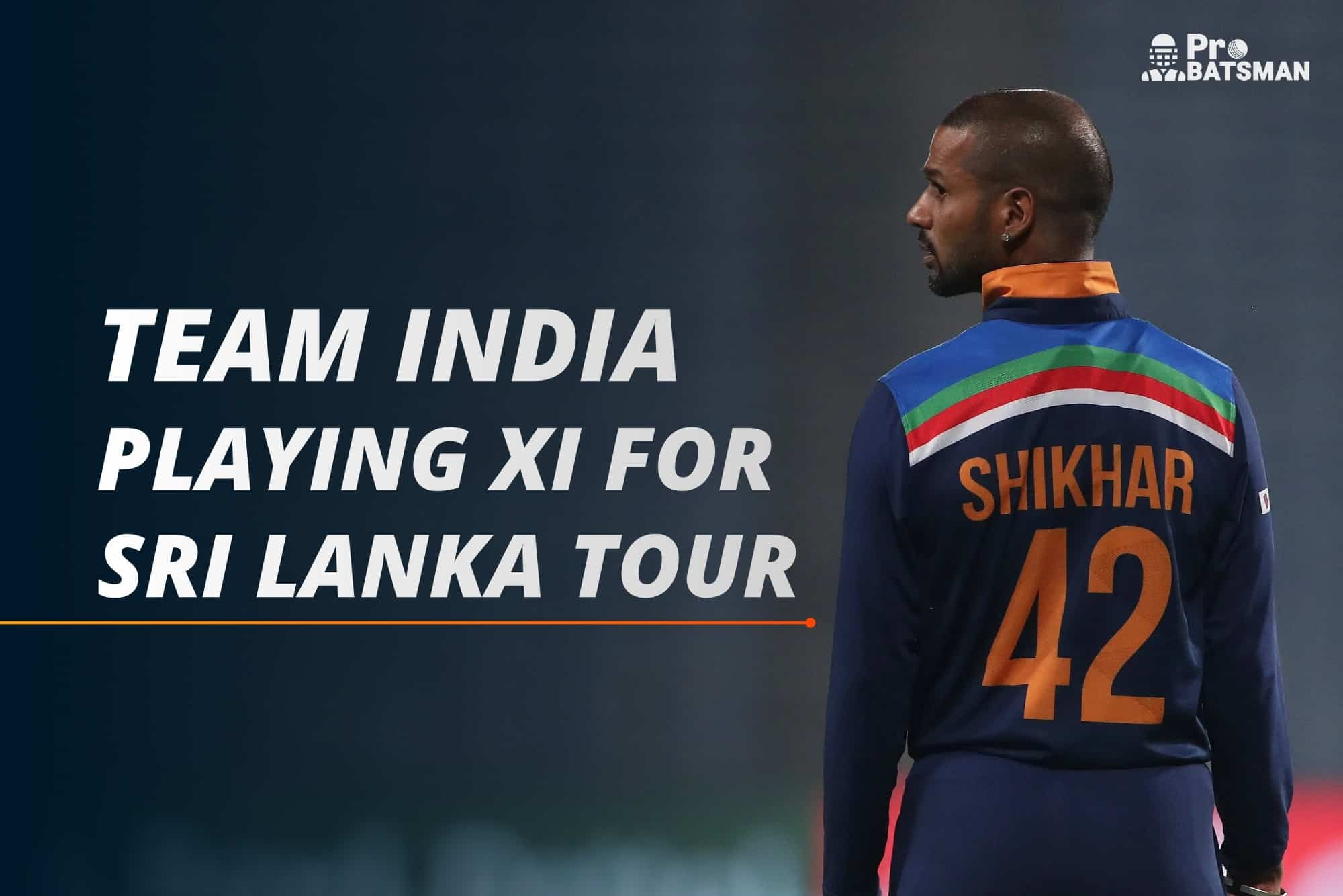 India's Predicted Playing XI For ODI Series Against Sri Lanka