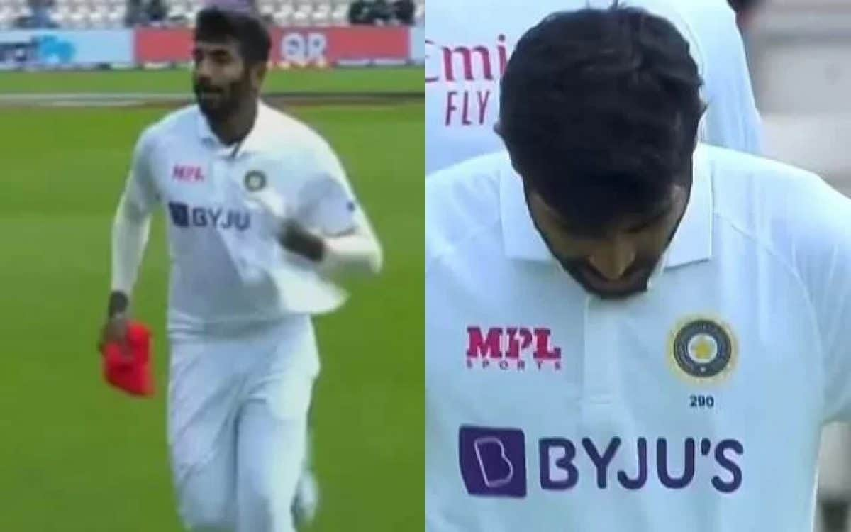 Watch: Jasprit Bumrah Seen Wearing Wrong Jersey On Fifth Day