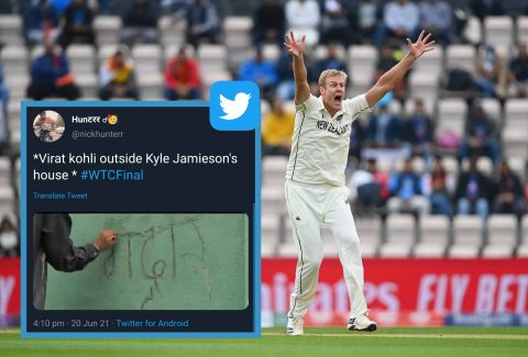 """Gaddar"" - Twitter Reacts After Kyle Jamieson Dismisses His IPL Skipper Virat Kohli"