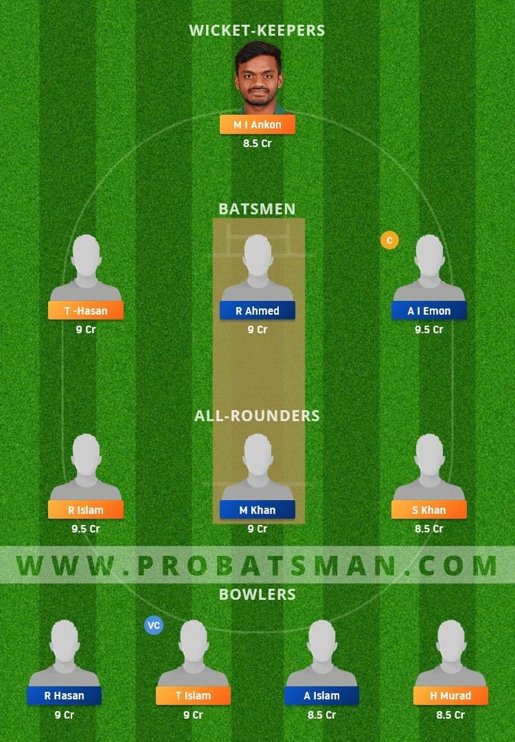 SCC vs DOHS Dream11 Fantasy Team Prediction