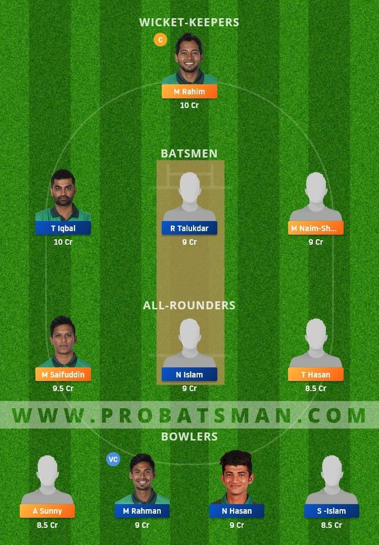AL vs PBCC Dream11 Fantasy Team Prediction