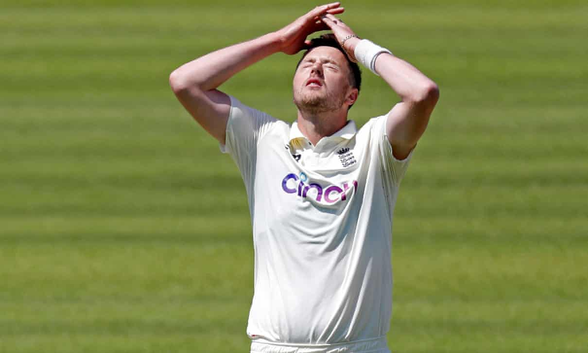 Ollie Robinson Suspended From All International Cricket For Historic Sexist And Racist Tweets