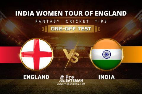EN-W vs IN-W Dream11 Prediction: Stats, Playing XI, Pitch Report & Player Record of India Women Tour of England 2021 For One-Off Test Match