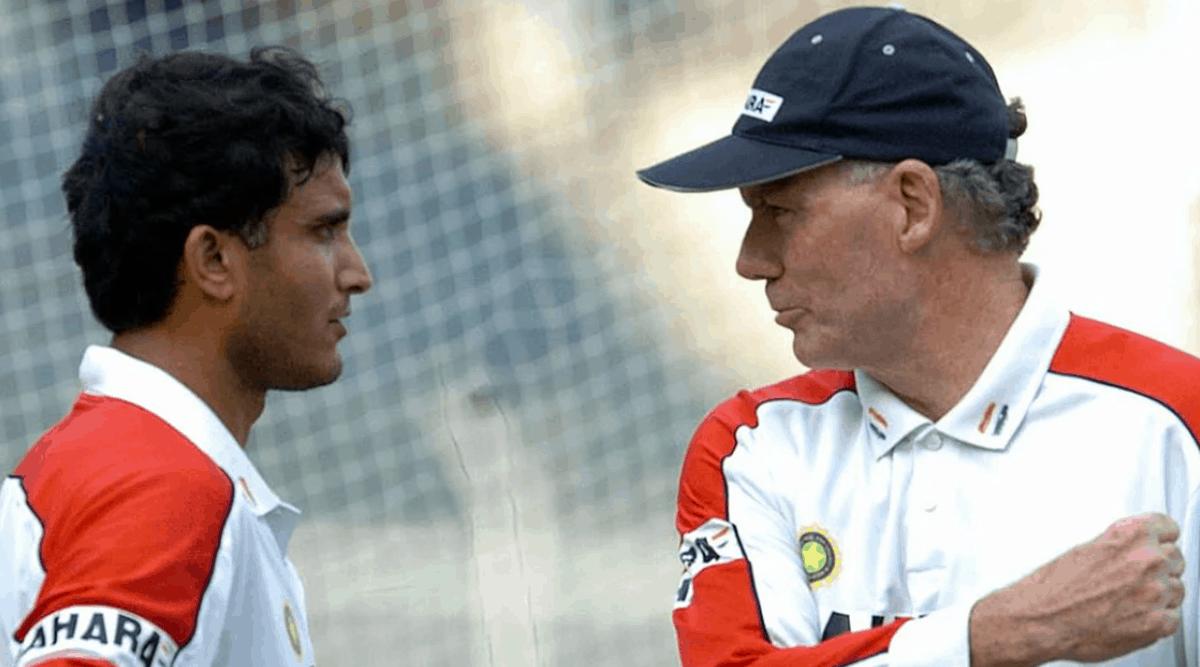 Greg Chappell & Sourav Ganguly
