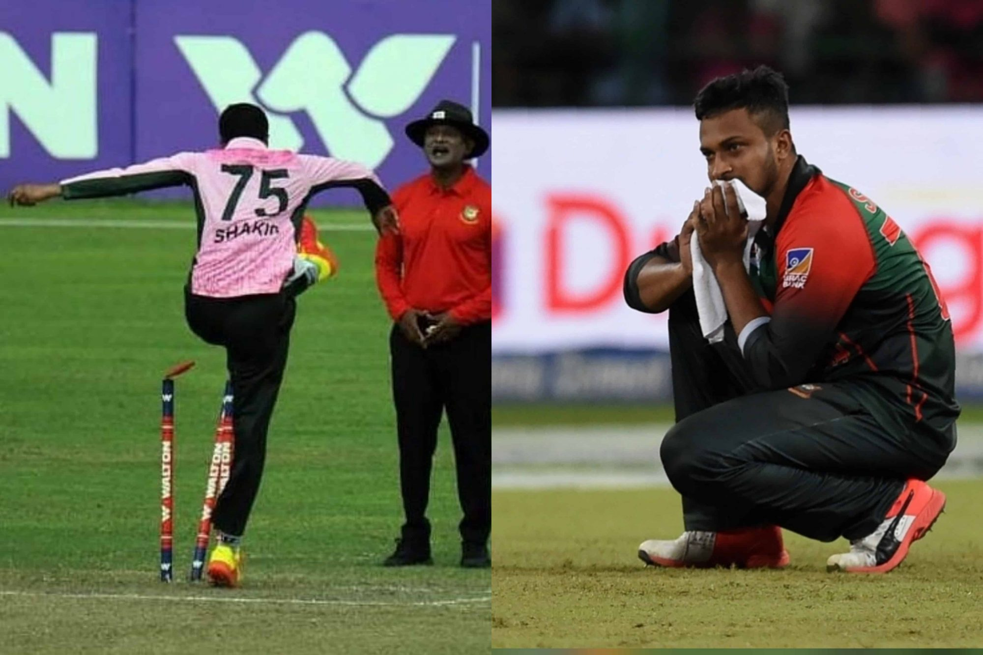 Shakib Al Hasan Punished For Misbehaving With Umpire During DPL