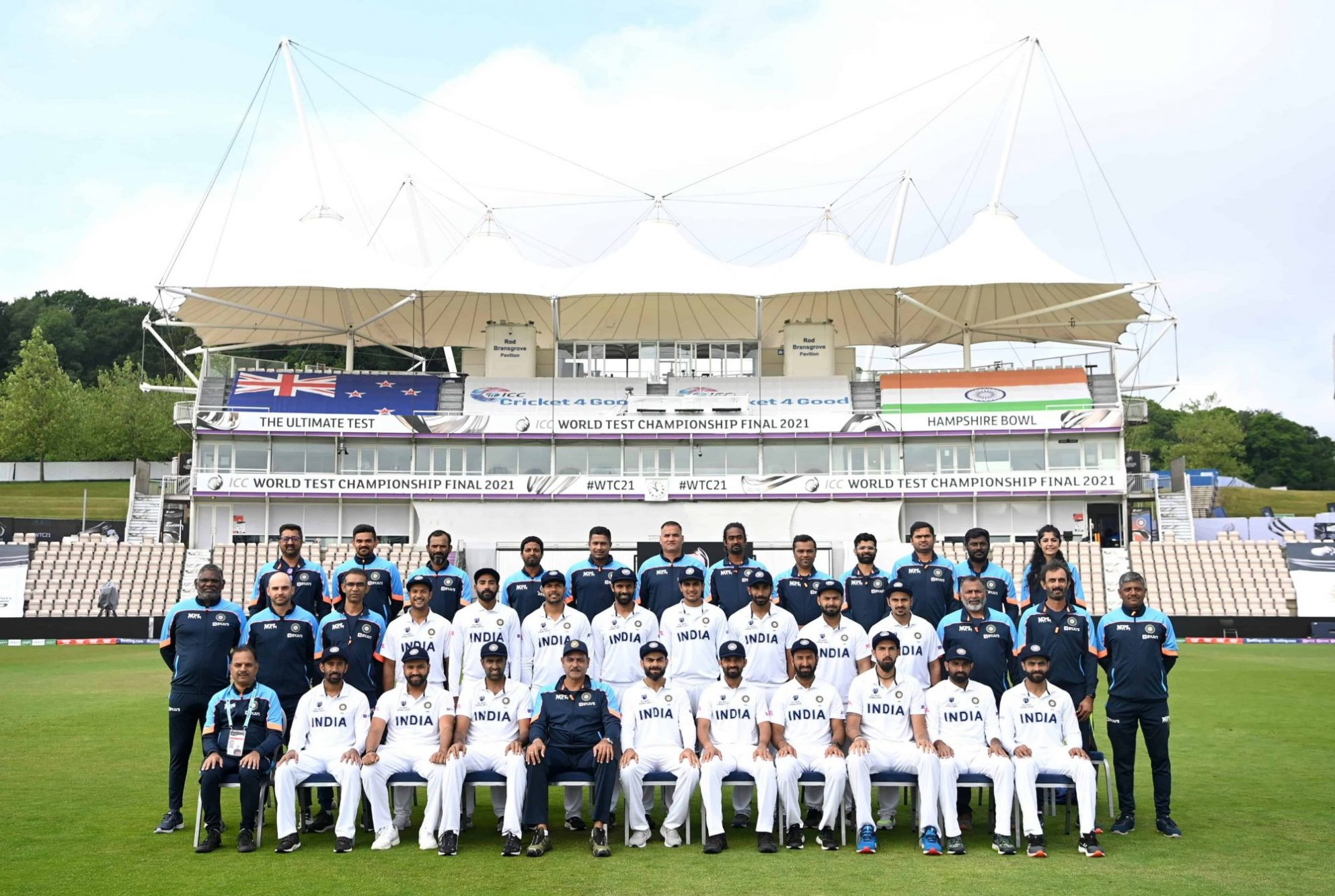 Team India Announces Final Playing XI For World Test Championship (WTC) Final Against New Zealand