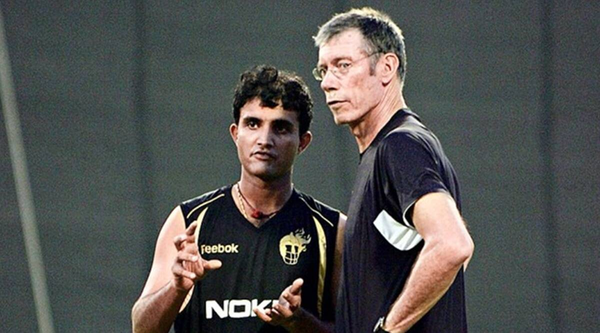 John Buchanan & Sourav Ganguly