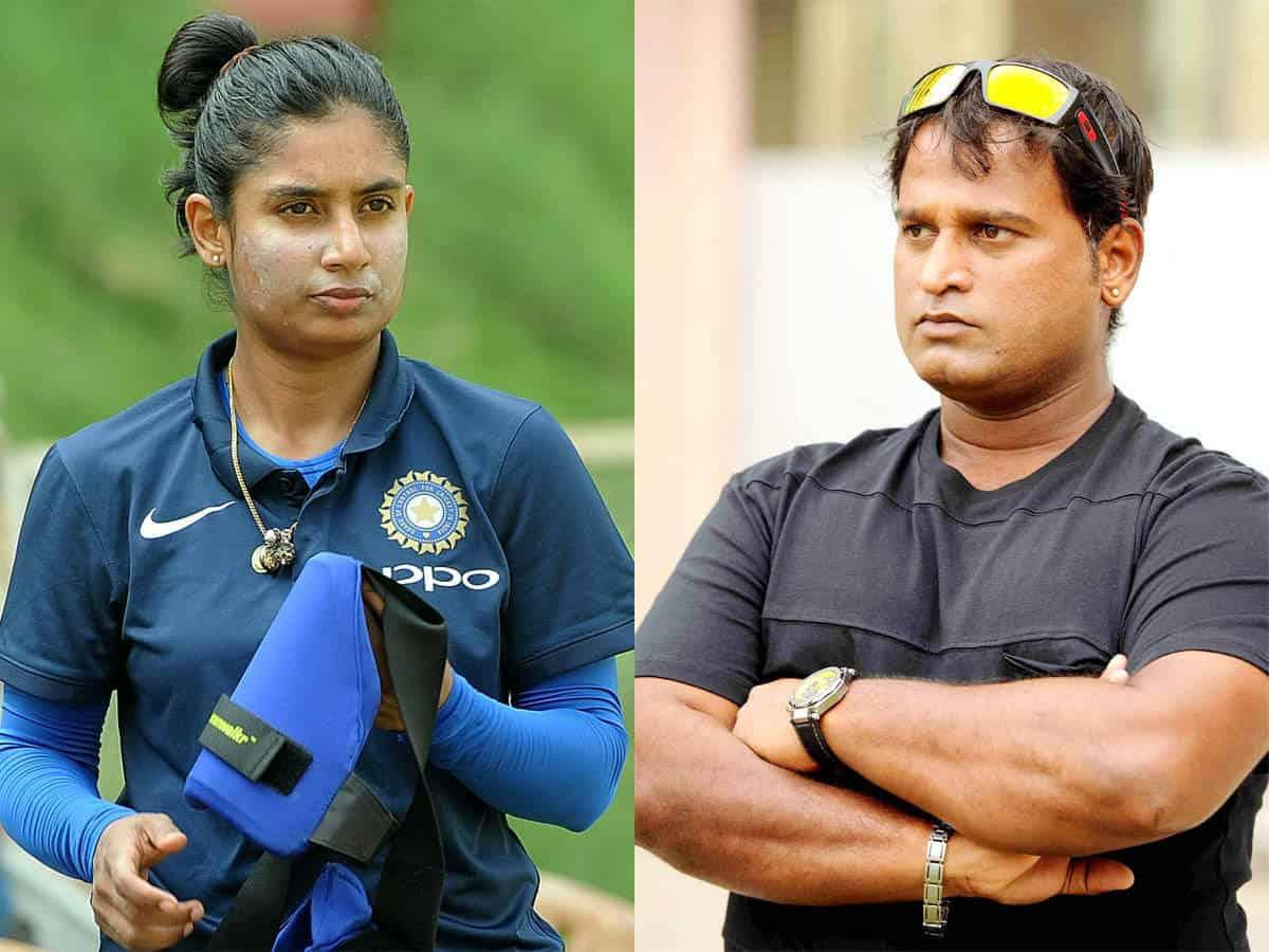 Mithali Raj & Ramesh Powar