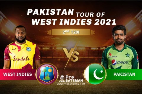 WI vs PAK Dream11 Prediction With Stats, Player Records, Pitch Report & Match Updates For 2nd T20I