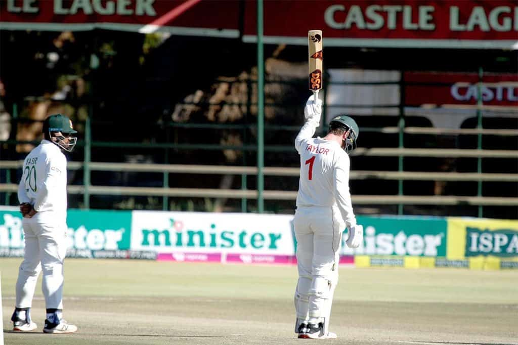 Brendan Taylor Hits Fastest Test Fifty For Zimbabwe; Equals Andy Blignaut's Record