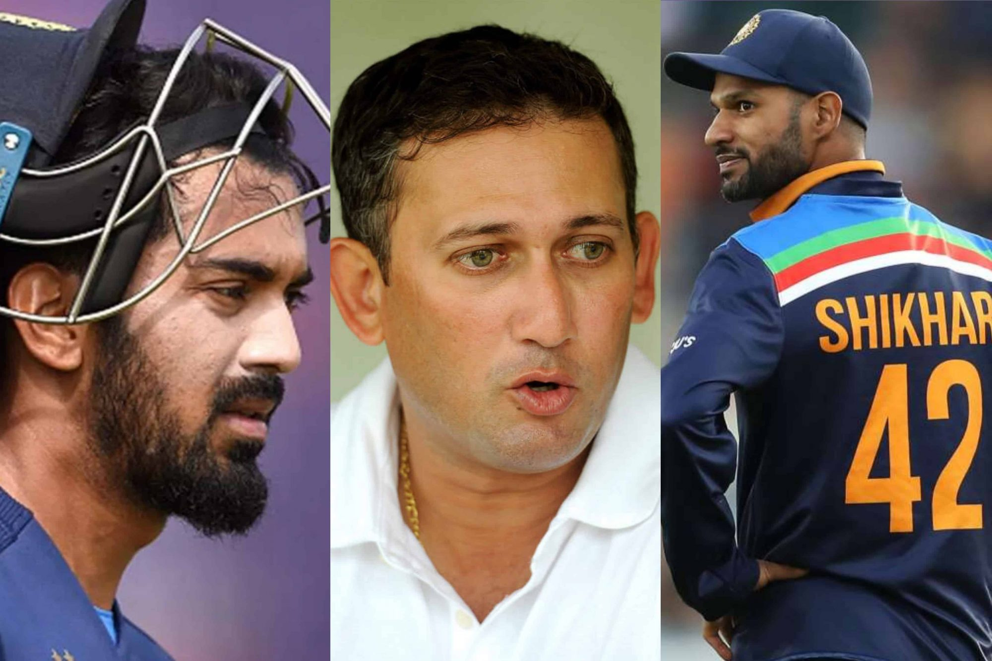 """Can Put Pressure On KL Rahul To Get Your Spot Back In XI"" - Ajit Agarkar On Shikhar Dhawan"
