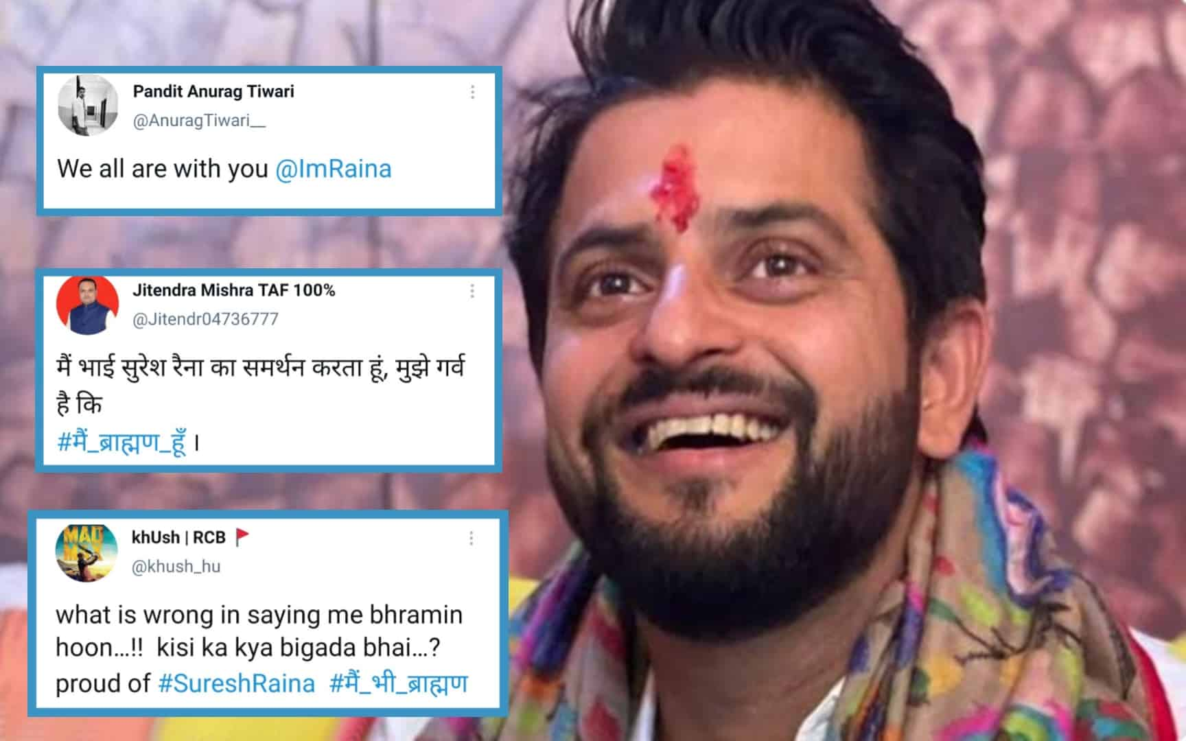 Fans Come In Support Of Suresh Raina, Said 'I Am Also A Brahmin'