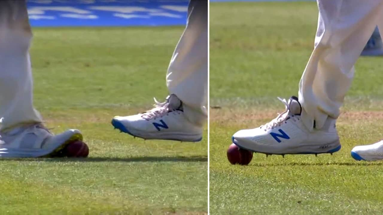 """""""Why Didn't Umpire Inspect The Ball"""" - Netizens Accuses English Players Of Ball-Tampering"""
