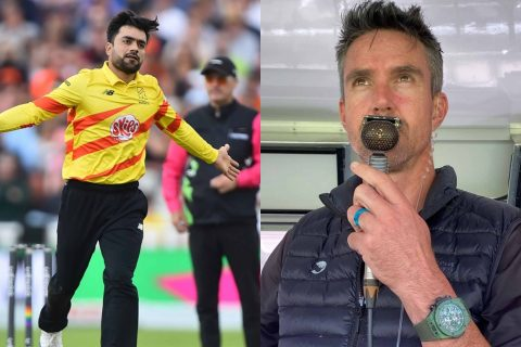 """""""He Is Worried, He Can't Get His Family Out Of Afghanistan"""" - Kevin Pietersen Reveals The Mental Pressure On Rashid Khan"""