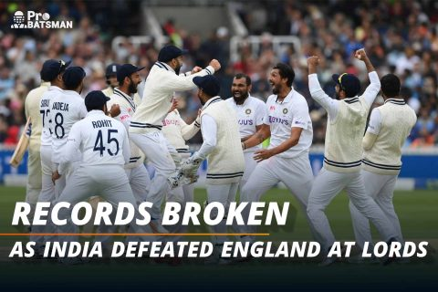 5 Massive Records Broken As India Register Their Third Ever Test Victory At Lord's