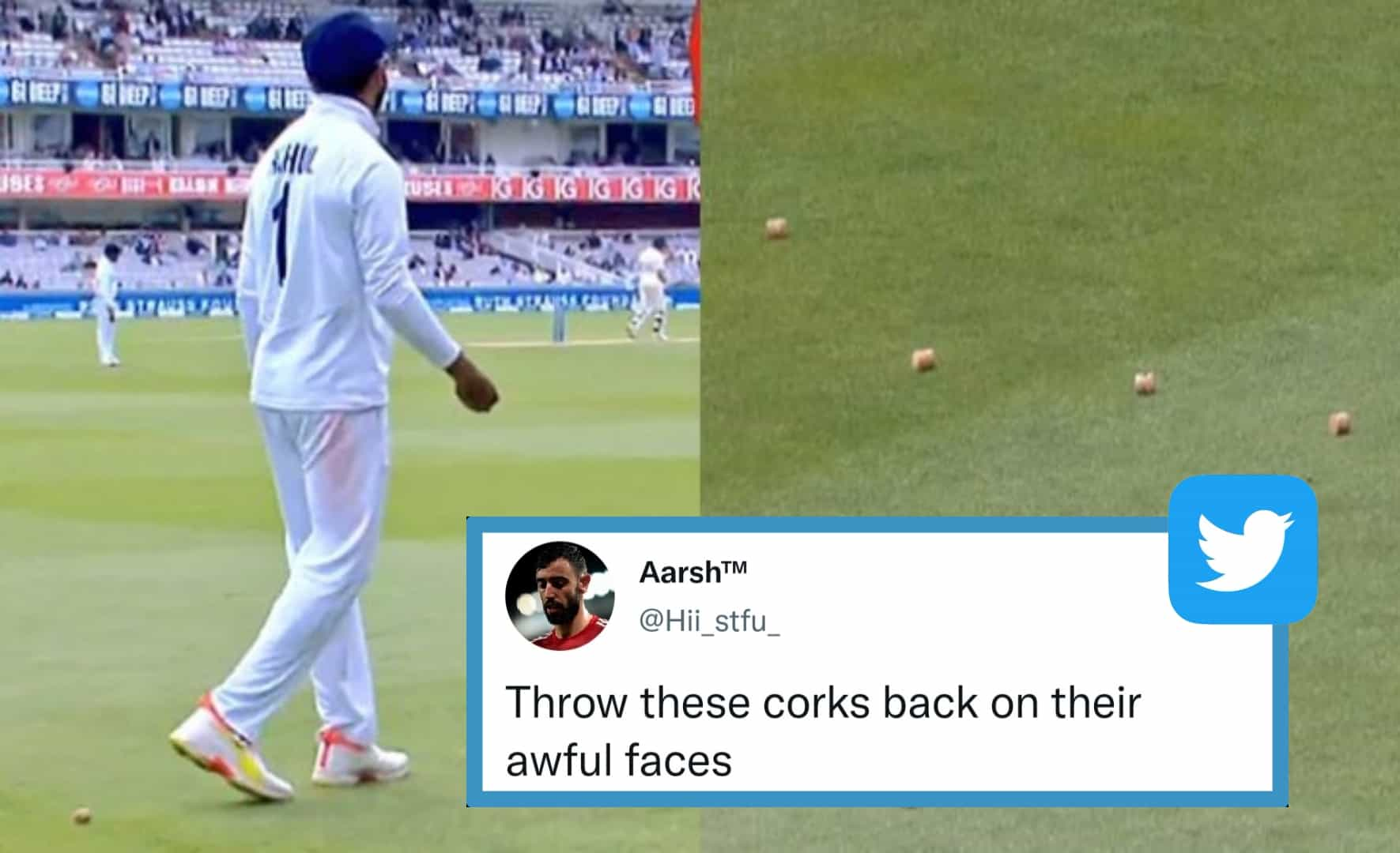 """""""Throw It Back On Their Awful Faces"""" - Twitterati Reacts As Drunk England Fans Hit KL Rahul With Champagne Corks in 2nd Test"""