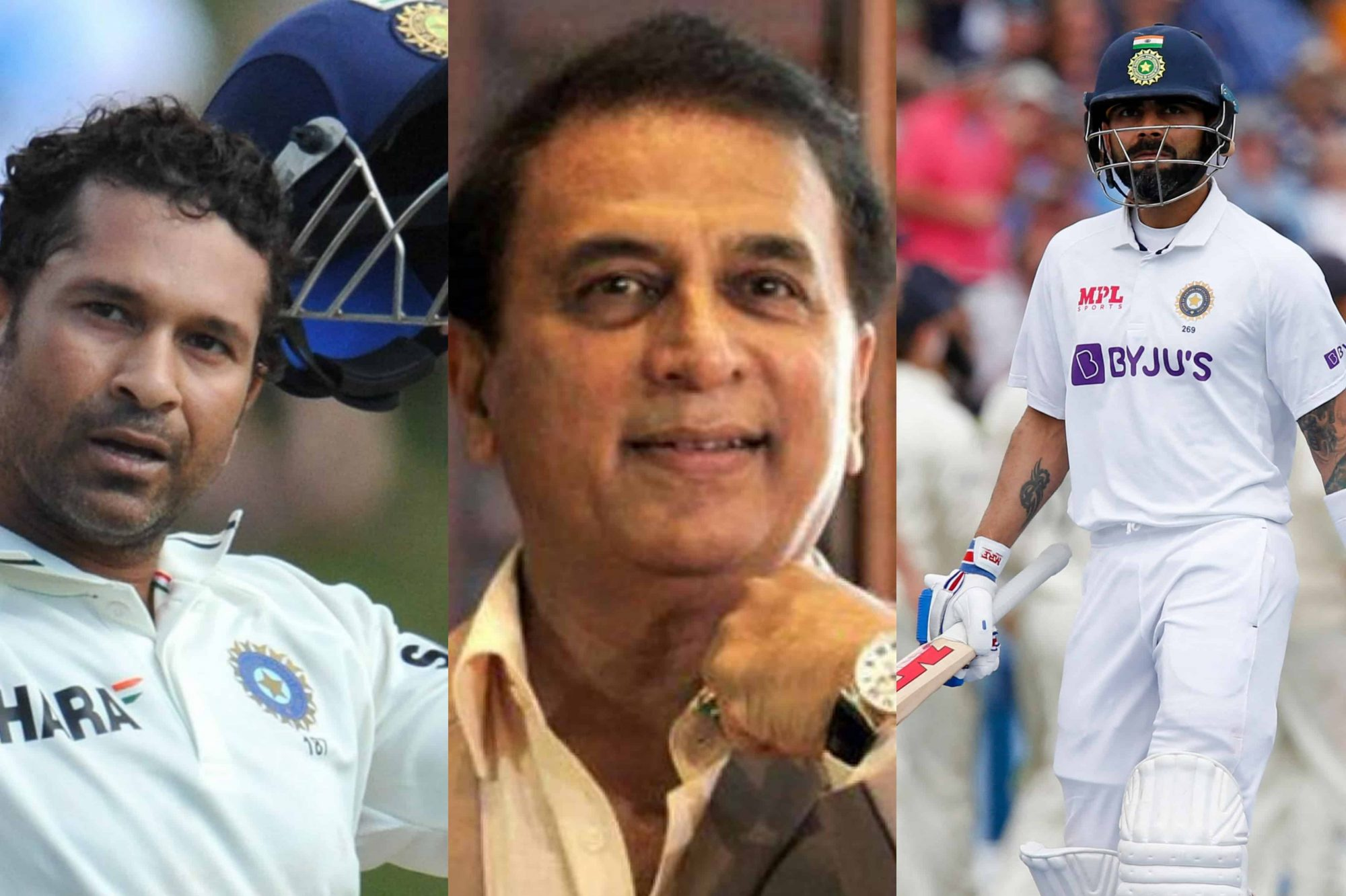Sunil Gavaskar Suggests Virat Kohli To Ask Sachin Tendulkar For Help Regarding His Similar Dismissals