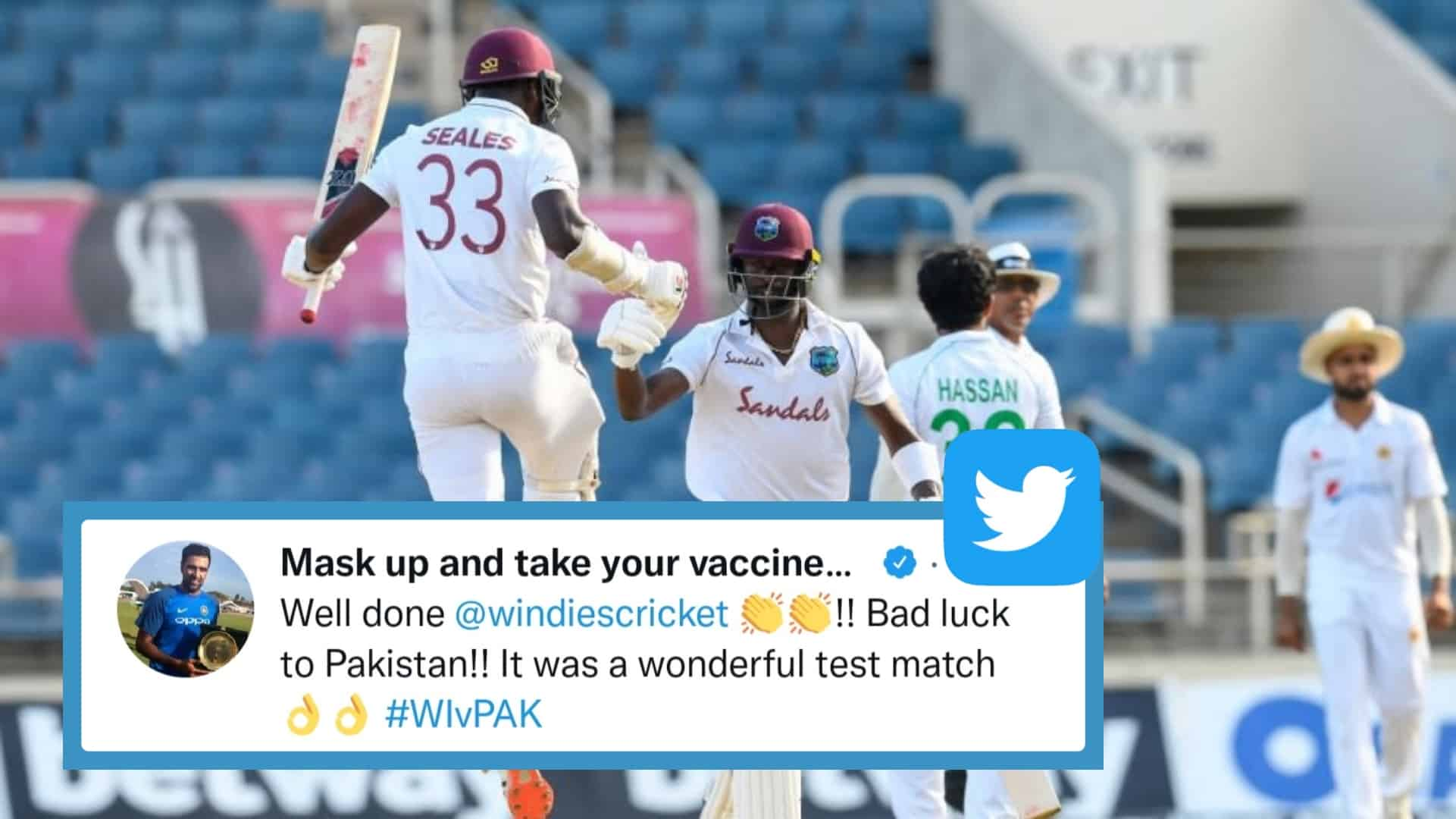 WI vs PAK: Twitter Reacts As West Indies Thrashed Pakistan By 1 Wicket In A Thrilling Way