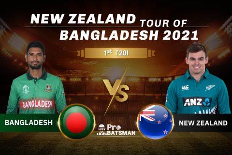 BAN vs NZ Dream11 Prediction