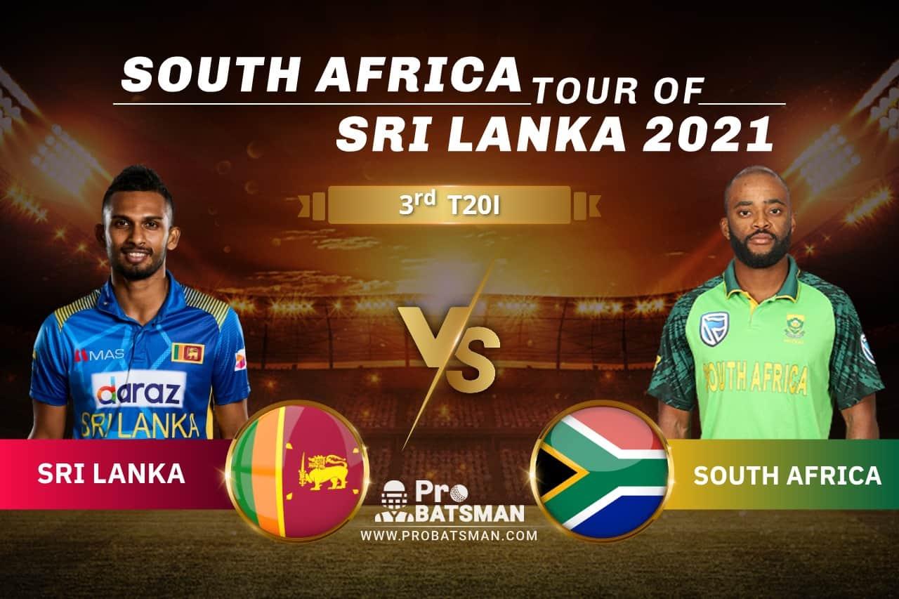 SL vs SA Dream11 Prediction