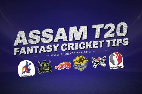 Assam T20, 2021 Dream11 Prediction