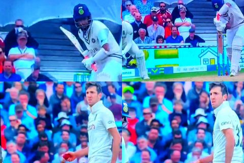 """""""Craig Overton Trying To Sledge Buddha Of Cricket"""" - Twitter Reacts As Overton Tries To Intimidate Cheteshwar Pujara"""