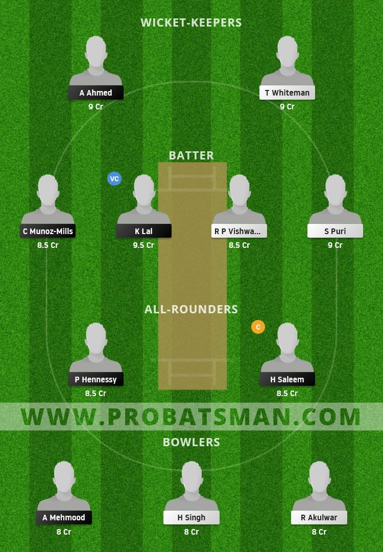 SPA vs LUX Dream11 Prediction With Stats, Pitch Report & Player Record of European Cricket Championship, 2021 For Match 11