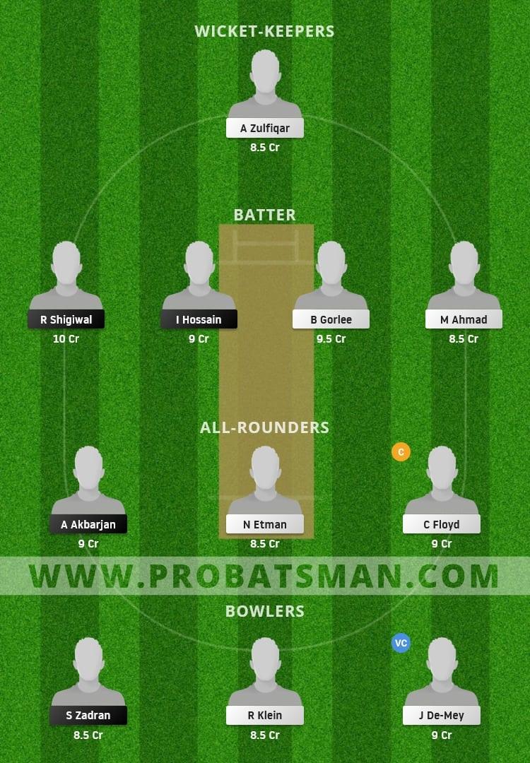 AUT vs NED XI Dream11 Fantasy Team Prediction