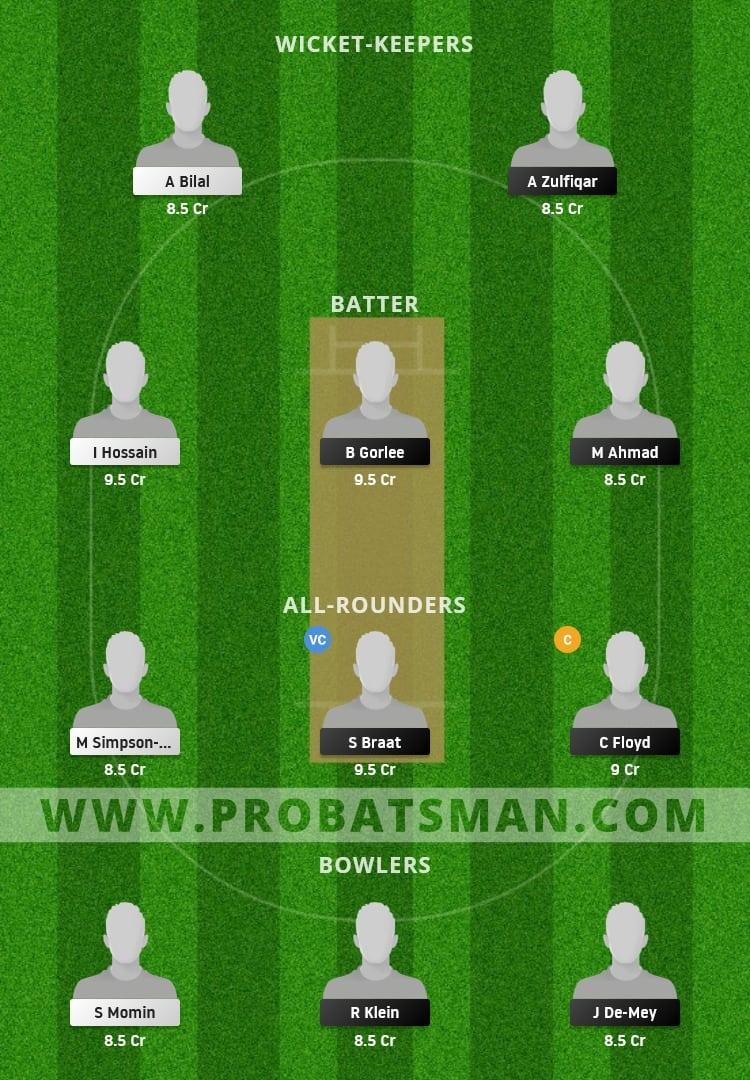 NED XI vs AUT Dream11 Fantasy Team Prediction