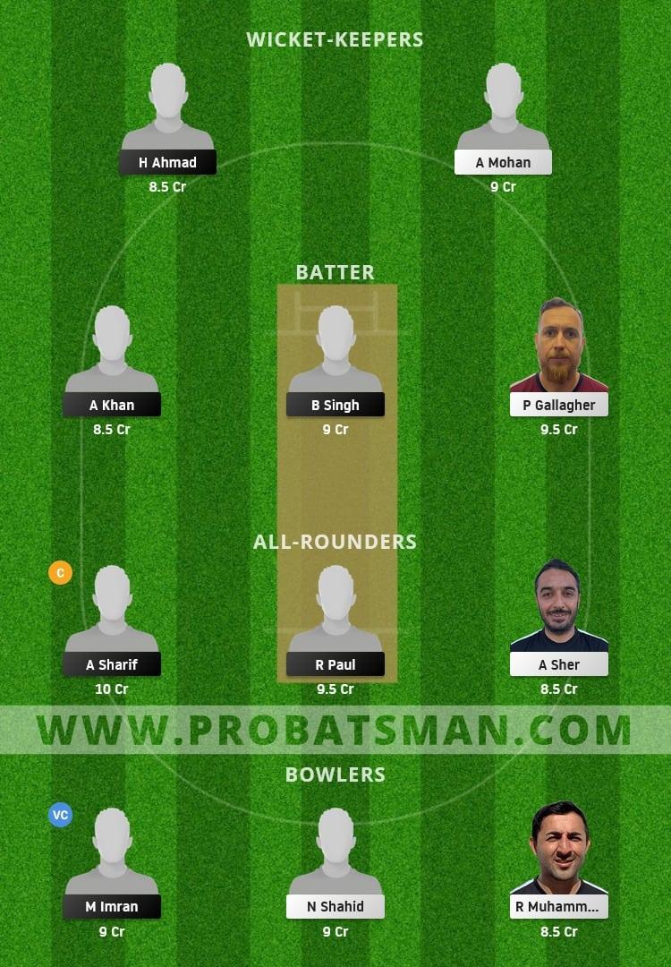 ITA vs FIN Dream11 Fantasy Team Prediction