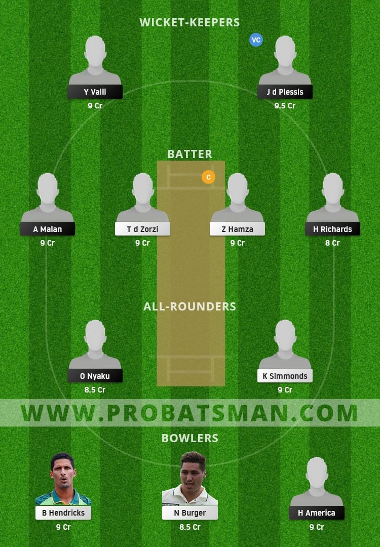 SWD vs WEP Dream11 Prediction With Stats, Pitch Report & Player Record of CSA T20 Cup, 2021 For Match 3