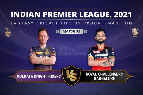 KKR vs RCB Dream11 Prediction
