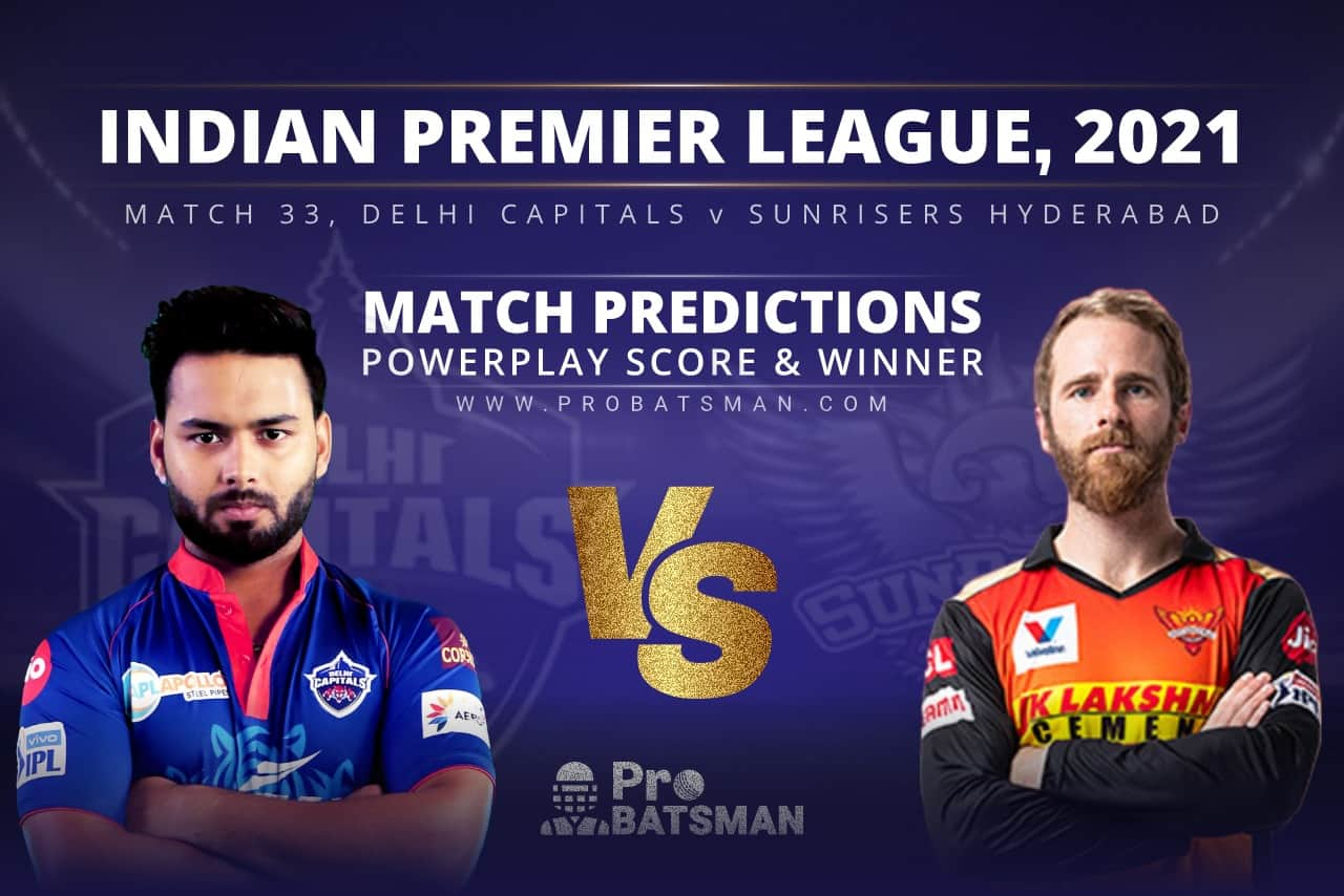 DC vs SRH Match Prediction Who Will Win Today's Match?