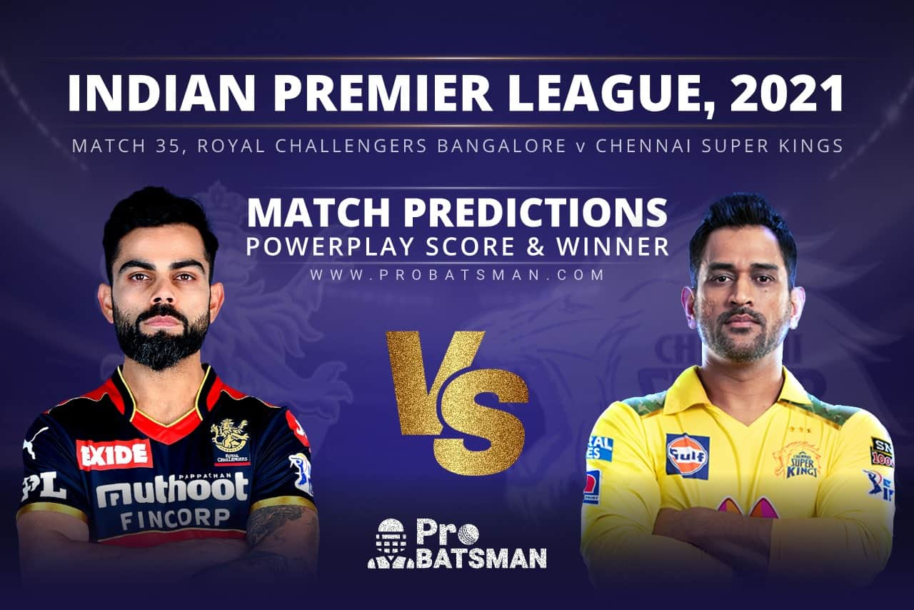 RCB vs CSK Match Prediction Who Will Win Today's Match?