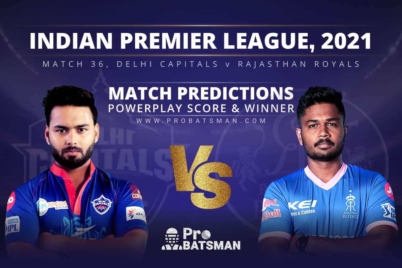 DC vs RR Match Prediction Who Will Win Today's Match