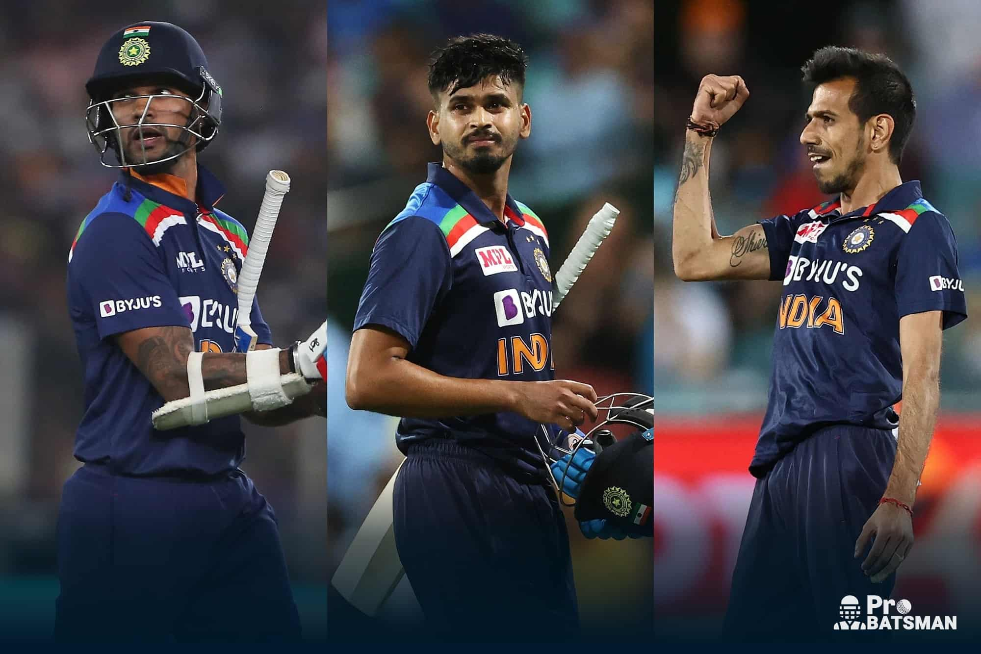 Three Surprising Exclusions From India's T20 World Cup Squad
