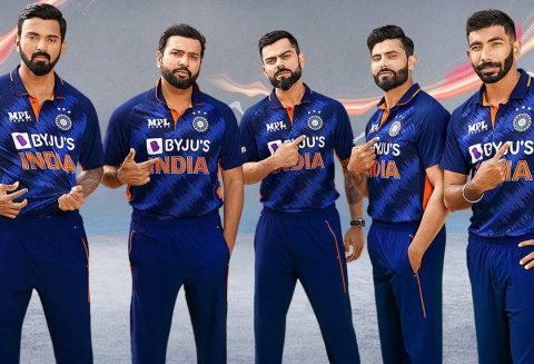 BCCI Reveals India's T20 World Cup Jersey