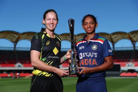 AU-W vs IN-W Meg Lanning & Harmanpreet Kaur