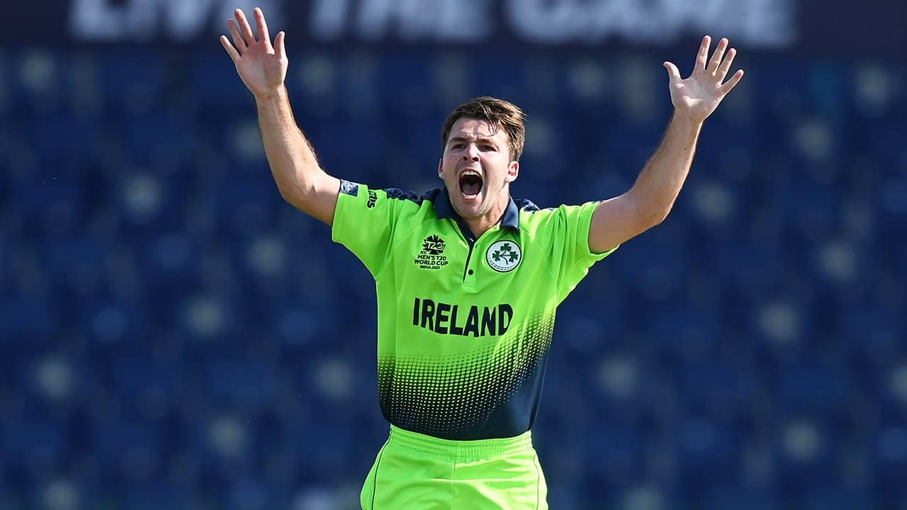 T20 WC: Ireland's Curtis Campher Becomes First Bowler To Take Double Hat-Tricks In T20 WC