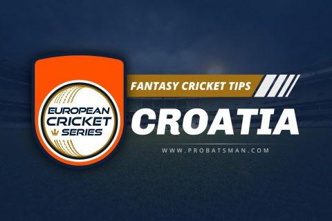 Dream11 Prediction of ECS T10 Croatia, 2021